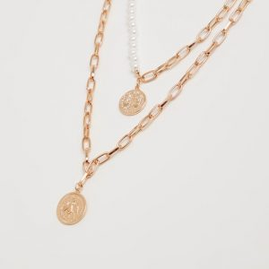 multi -layer necklace accessories from Max Fashion