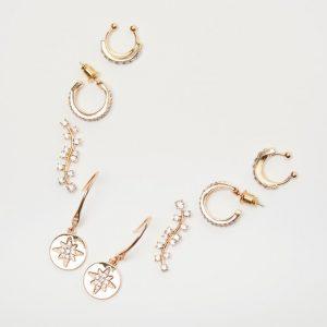 set of 4 earrings