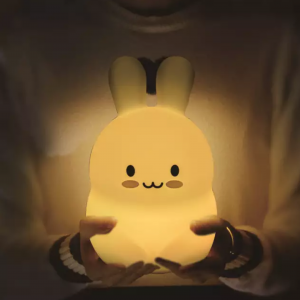 Dimmable bunny night lamp