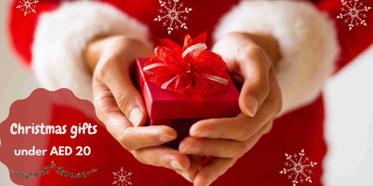Christmas gifts under AED 20 for a pocket-friendly festive season