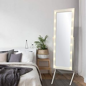 Mirror with light- home decor