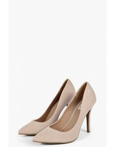 Mia Pointed Court Heels - nude - best shoes to wear to work