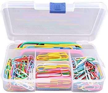 250 Pieces Paper Clips- essentials stationary