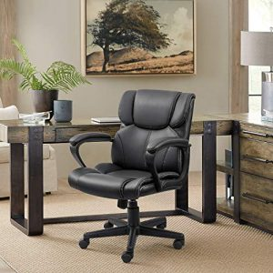 Furmax Mid Back Executive Office Chair - essentials for setting up a personal workspace at home