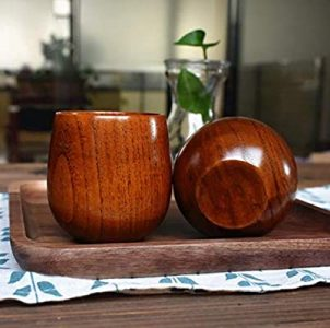 Wooden spruce cup- serveware