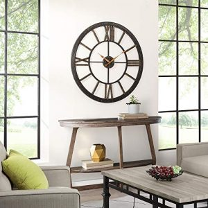 Wall clock: large wall clock for home