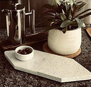 Marble platter- for serving