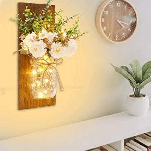 Mason jar decoration- wall decoration