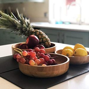 Wooden bowls- best serveware