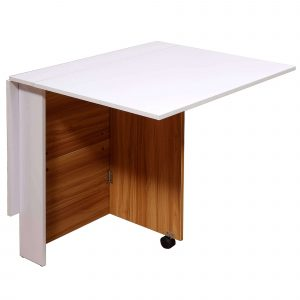 Folding table- space saving