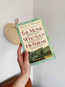 The monk who sold his Ferrari- inspirational books