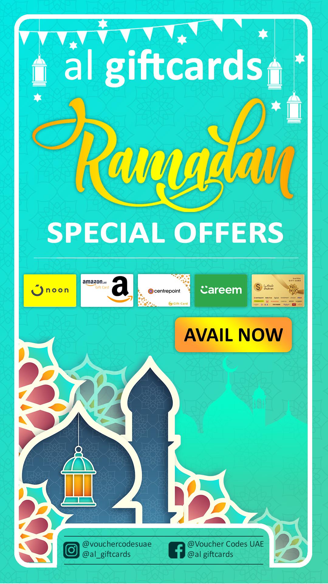 AlGiftCards, Ramadan