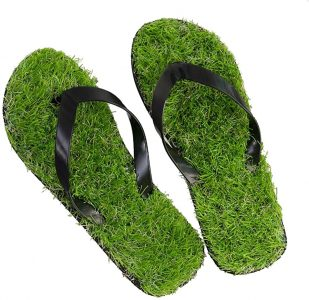 Grass flip flops Amazon UAE