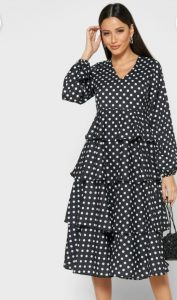 Tiered dresses- woman fashion trends 2020