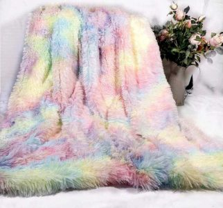 Furry blanket- home decor
