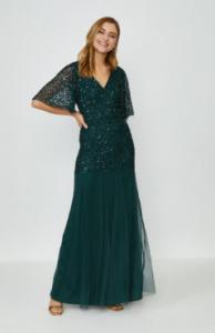 Green sequin dress from vogacloset