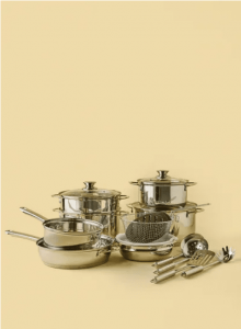 noon-east-18-Piece-High-Quality-Stainless-Steel-Cookware-Set-Silver-online-in-Dubai