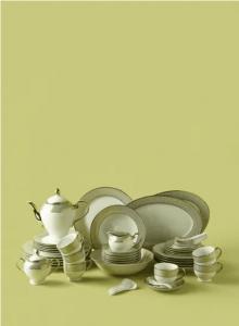 noon-east-56-Piece-Porcelain-Dinner-Set-Plates-Cups-Bowls-Serves-6-White-Gold-Honeycomb