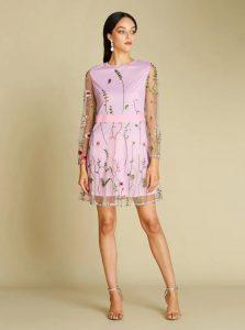 Mesh dresses- chic looks