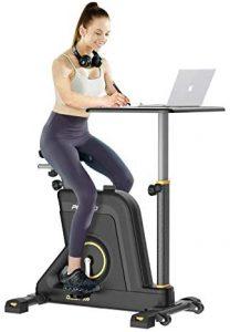 Bike desk home workout